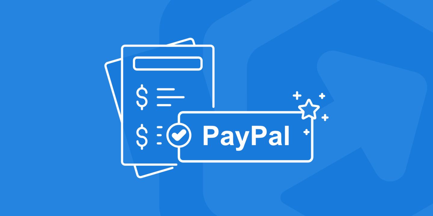 Illustration - Pay an invoice with PayPal